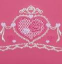 ロマンティックハートの刺繍