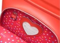 フラットキューブ縦型の前段ポケット内のデザインと鍵用Dカン