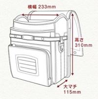 鞄工房山本のメイン/サブ・前段ポケットの収納力