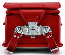 防水コードバンの手動施錠