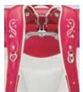 エレファントキューブの肩ベルトの刺繍